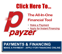 Payzer Financing with Yeagers